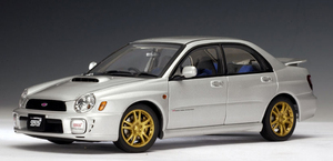 SALE 2001 Subaru WRX STi New Age Sedan 1:18 by AUTOart Silver SALE