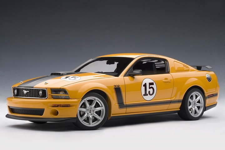 FORD Mustang SALEEN PARNELLI JONES #15 Grabber Orand 1:18 by AUTOart