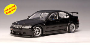 BMW 320i (E46) WTCC PLAIN BODY VERSION (BLACK) by AUTOart #80549