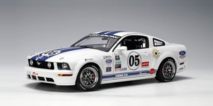 FORD RACING MUSTANG FR 500C GRAND-AM CUP GS 2005 S.MAXWEL / .EMPRINGHAM #05 1:18 by AUTOart #80510