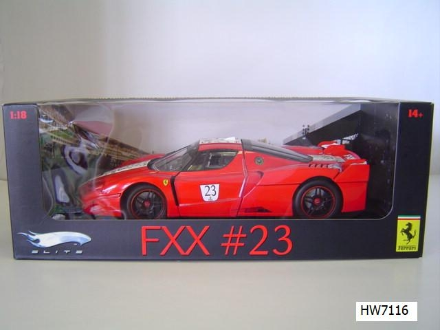 Ferrari F40 Red #23 1/18 Scale by Hot Wheels ELITE Edition