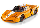 FERRARI ENZO FXX  SOLAR DIRECT #21 ORANGE by HOT WHEELS ELITE 1:18
