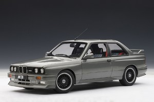 1989 BMW M3 Evolution Silver 1:18 by AUTOart NEW RELEASE