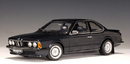 BMW 635 CSi Black 1:18 by AUTOart RARE DISCONTINUED