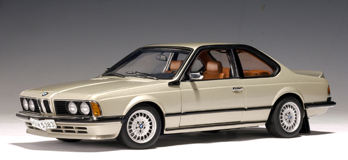 BMW 635 CSi Beige 1:18 by AUTOart RARE DISCONTINUED