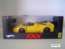 Ferrari FXX  Yellow 1/18 Scale by Hot Wheels ELITE Edition