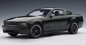 2008 Ford Mustang GT Bullitt Highland Green  1/18 Scale by AUTOart