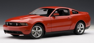 2010 Ford Mustang GT Coupe Torch Red AUTOart 1:18