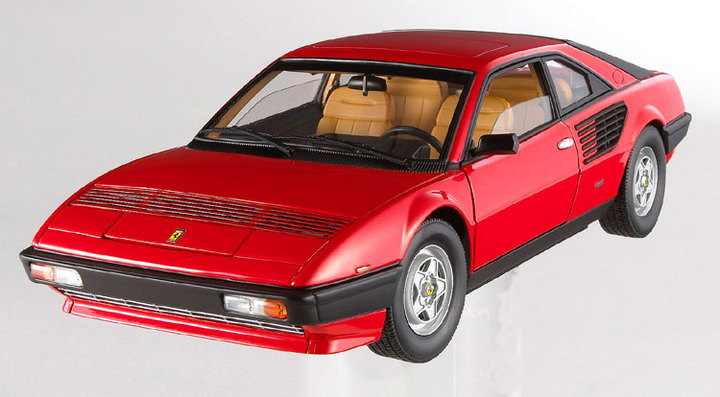 Ferrari Mondial 8 Red 1/18 Scale by Hot Wheels ELITE Edition