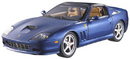 Ferrari Superamerica Blue 1/18 Scale by Hot Wheels ELITE Edition