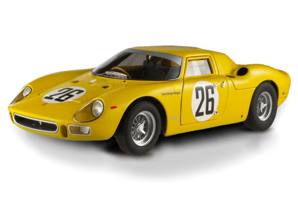 Ferrari 250 LeMans Yellow #26 1/18 Scale by Hot Wheels ELITE Edition SALE