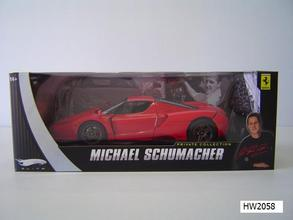 Ferrari Enzo Michael Schumacher Edition Red 1/18 Scale by Hot Wheels Elite Edition