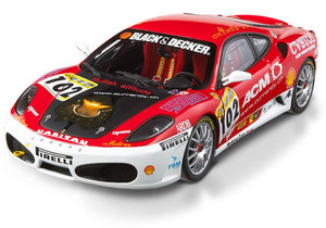 Ferrari F430 Challenge Series #102 Special 1/18 Scale by Hot Wheels