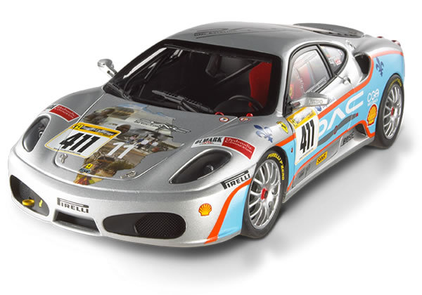 Ferrari F430 Challenge Series #4 Special 1/18 Scale by Hot Wheels