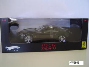 Ferrari F 575 Zagato Black 1/18 Scale by Hot Wheels ELITE Edition