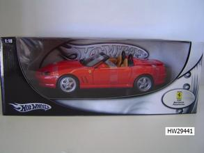 Ferrari 550 barchetta Red by Hot Wheels 1/18 Scale