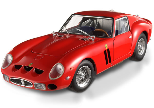 Ferrari 250 GTO Red 1/18 Scale by Hot Wheels ELITE Edition