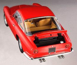 Ferrari 250 GT Berlinetta Lusso Red 1/18 Scale by Hot Wheels ELITE Edition