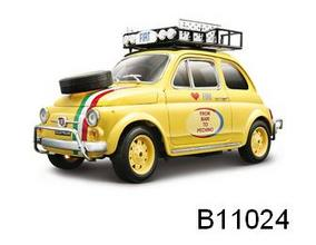 Fiat 500 Rally Da Bari a Pechino 1/18 Scale by Burago