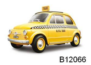 Fiat 500 Taxi 1/18 Scale by Burago