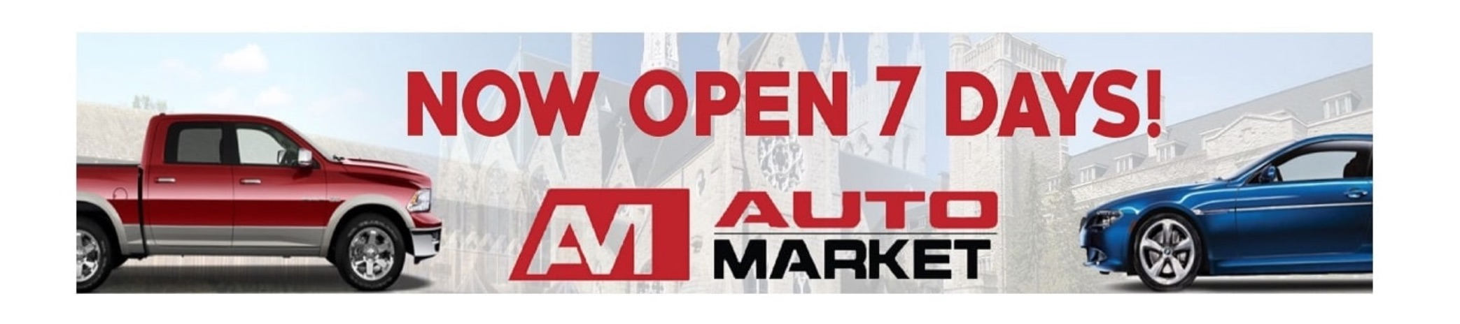 automarket now open 7 days