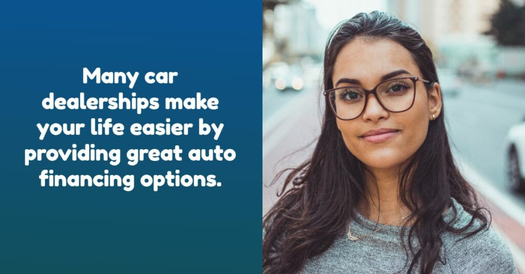 Finance with Your Car Dealership