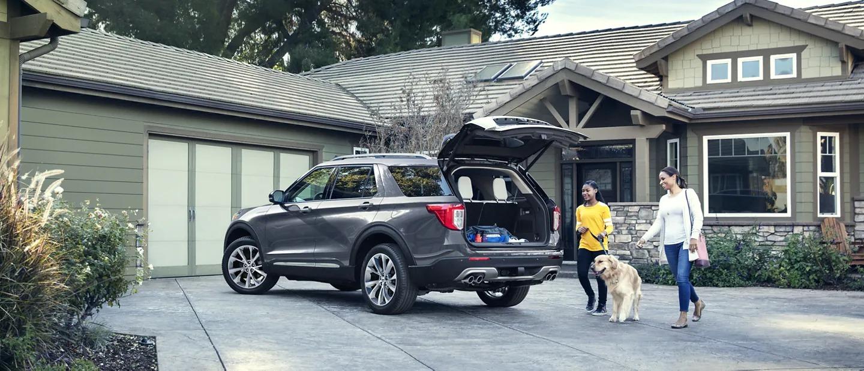 2021 Ford Explorer Trunk Open