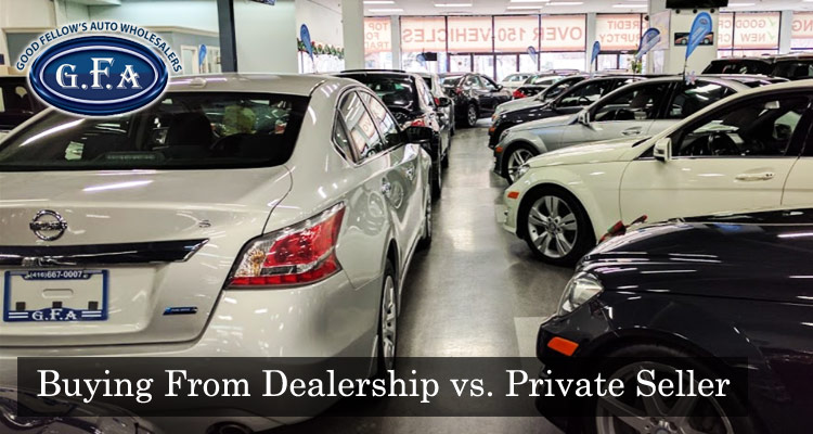 The Benefits of Buying From a Dealership vs. a Private Seller