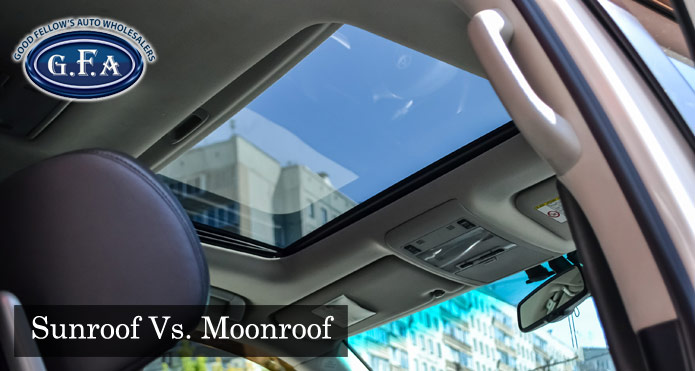 What's The Difference Between a Sunroof and a Moonroof