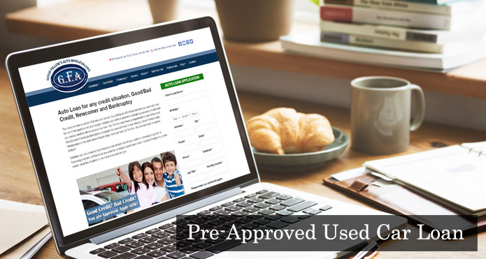 Get Pre-Approved Online For a Used Car Loan