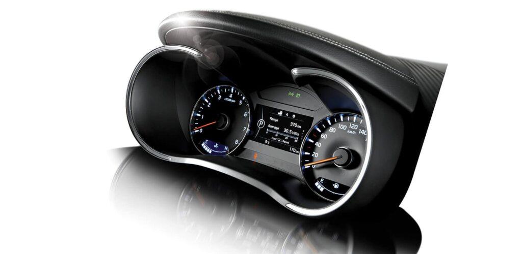 2017 Kia Forte Speedometer