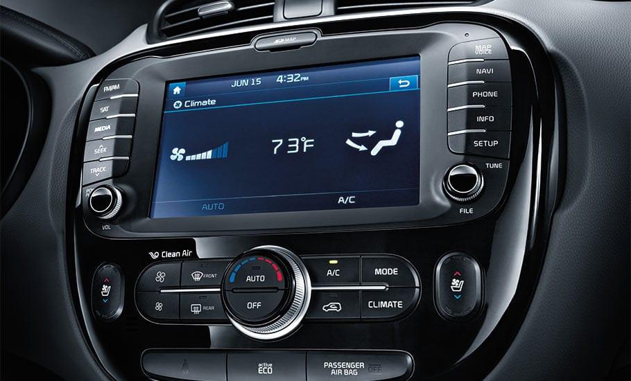 2014 Kia Soul SX Interior 8 Inch Multimedia Interface