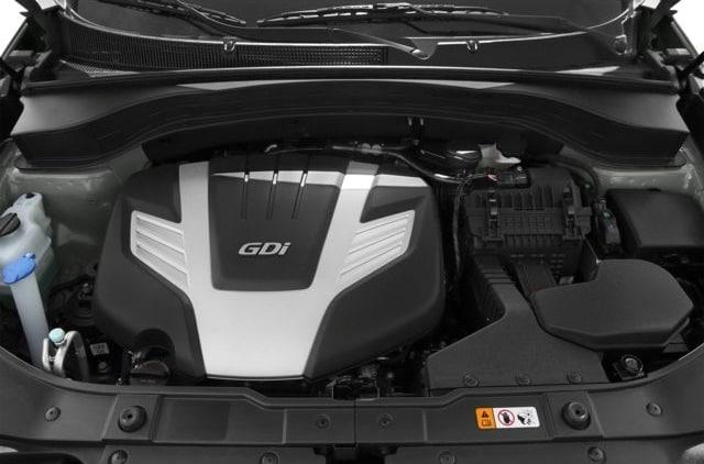 2014 Kia Sorento LX Engine