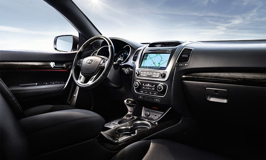 2014 KIA Sorento SX Interior Dashboard