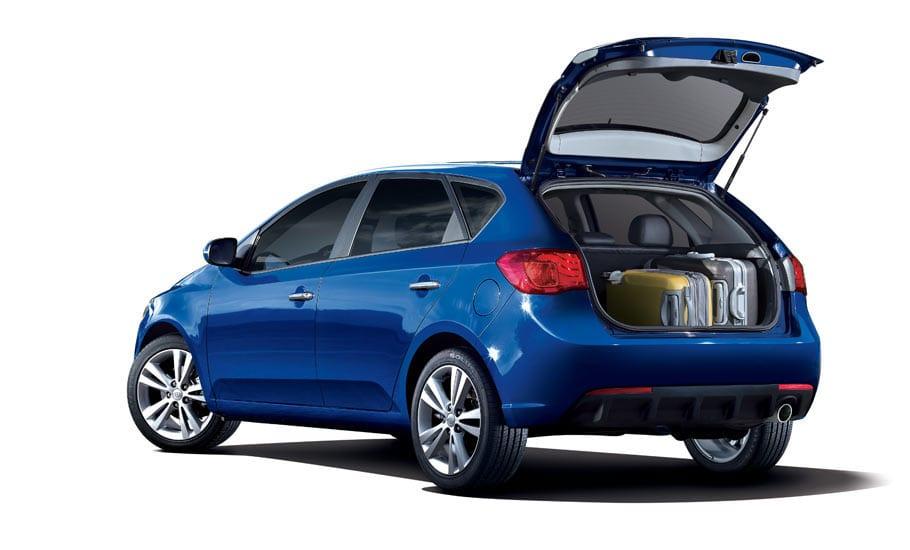 2013 KIA Forte 5-EX Exterior Rear End Hatchback