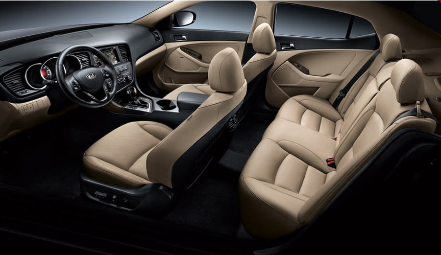 2013 KIA Optima EX Turbo Interior Seating