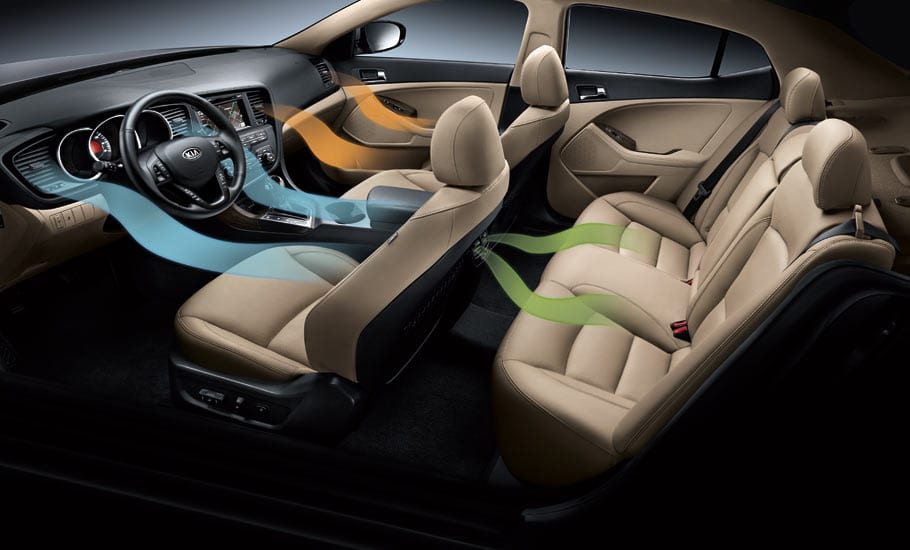 2013 Kia Optima Interior