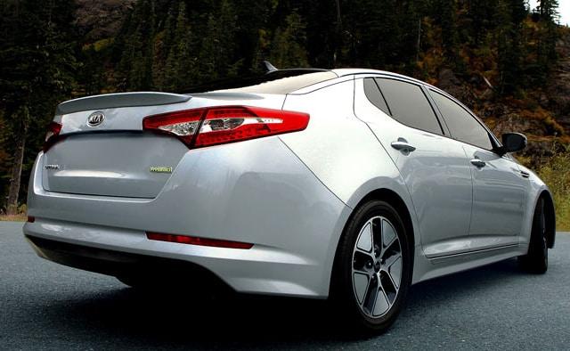 2013 KIA Optima Hybrid Premium Exterior Rear End