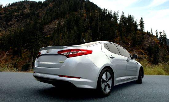 2014 Kia Optima Hybrid Exterior Rear End