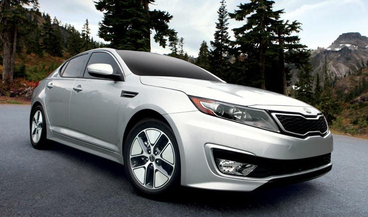 2013 KIA Optima Hybrid Premium Exterior Front End