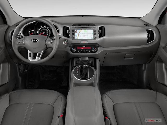 2013 Kia Sportage Dashboard