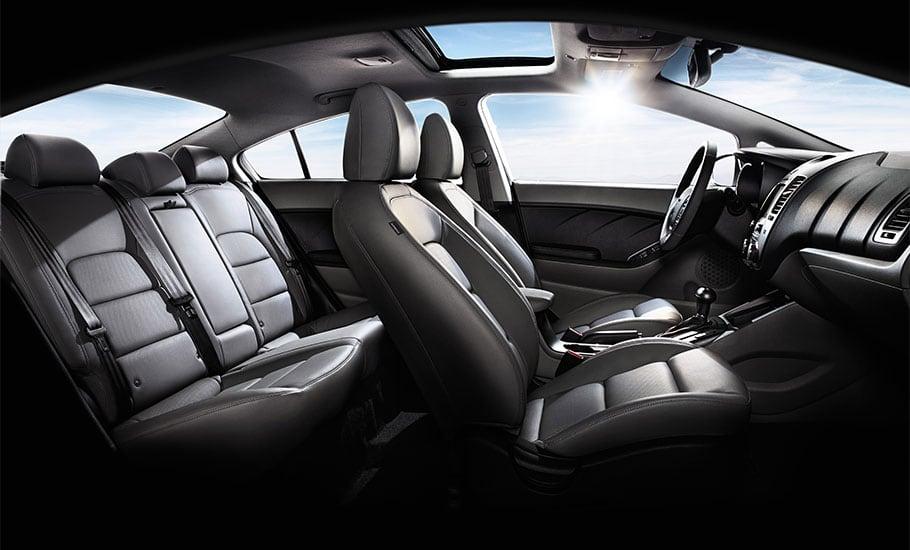 2015 Kia Forte SX Interior Seating