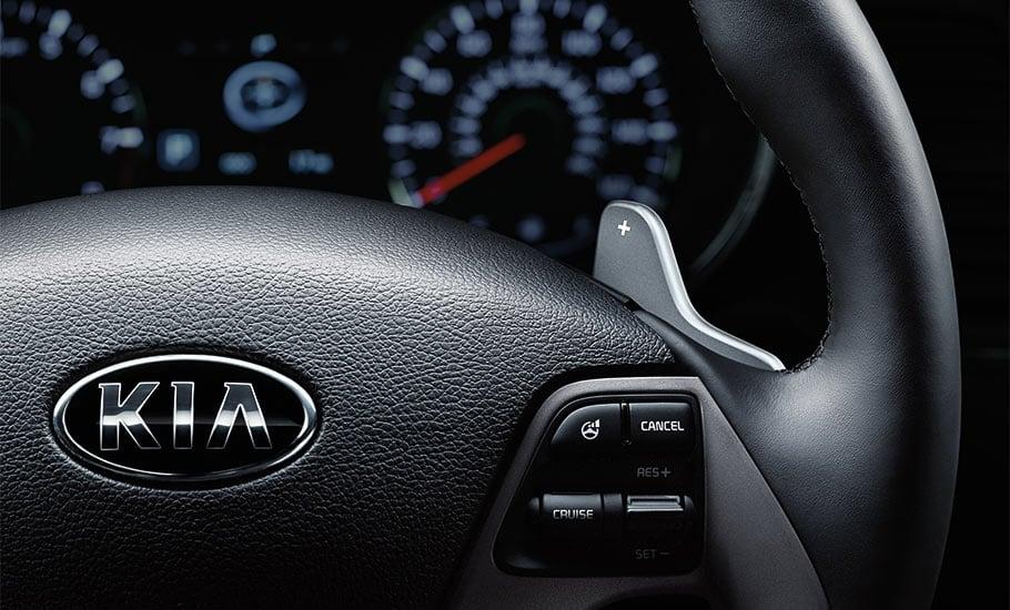 2015 Kia Forte Koup SX Luxury Interior Steering Wheel
