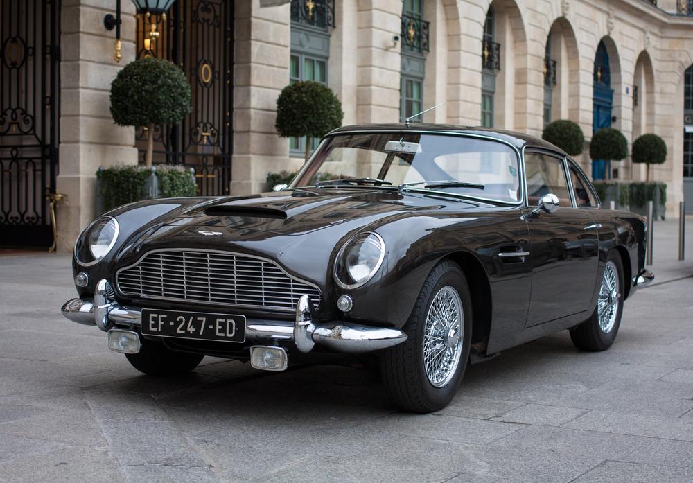 Aston Martin DB5 Parked