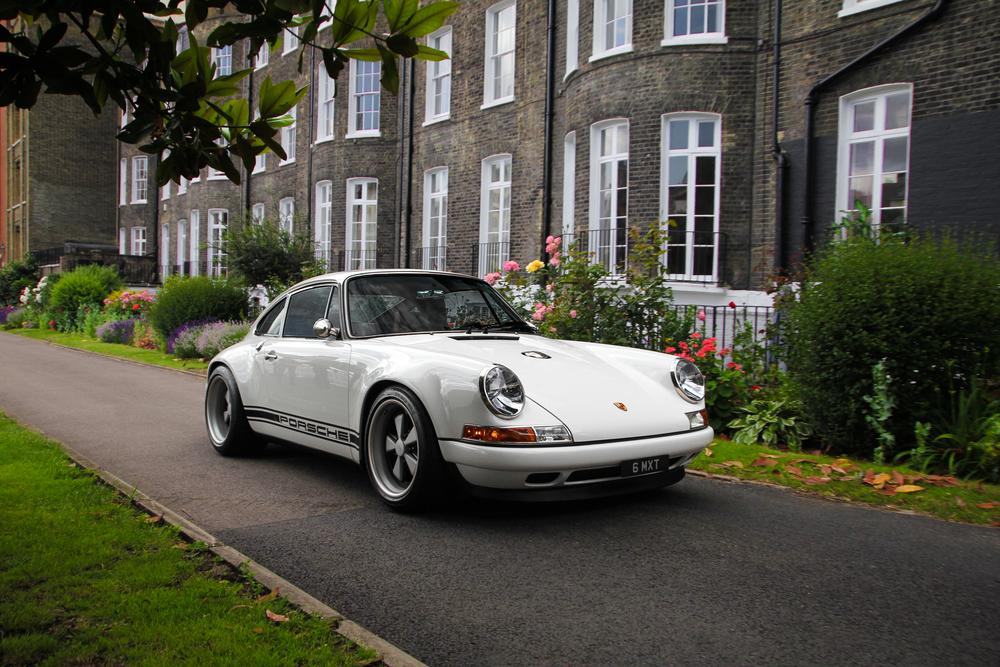 White Singer Porsche 911