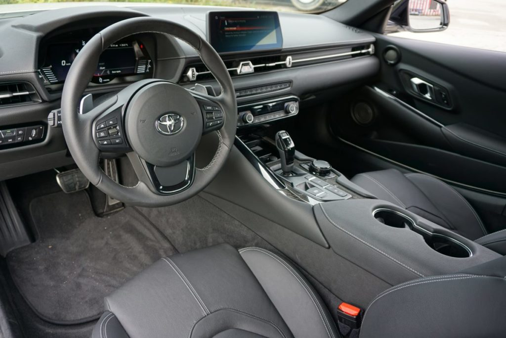 supra a90 2020 interior GR