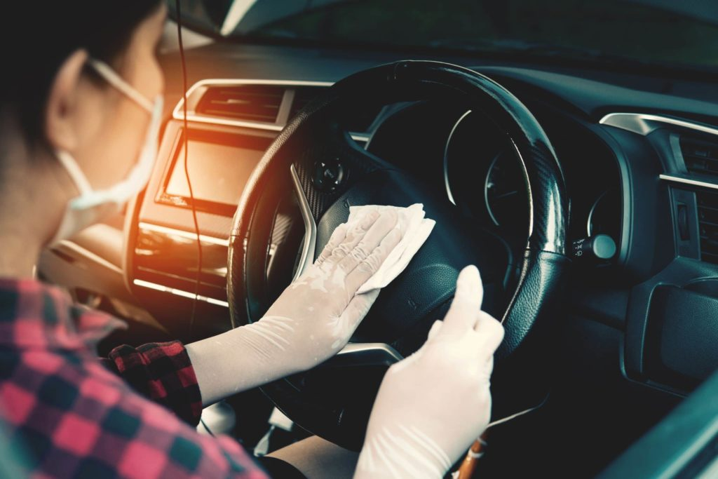 disinfecting your vehicle during covid19