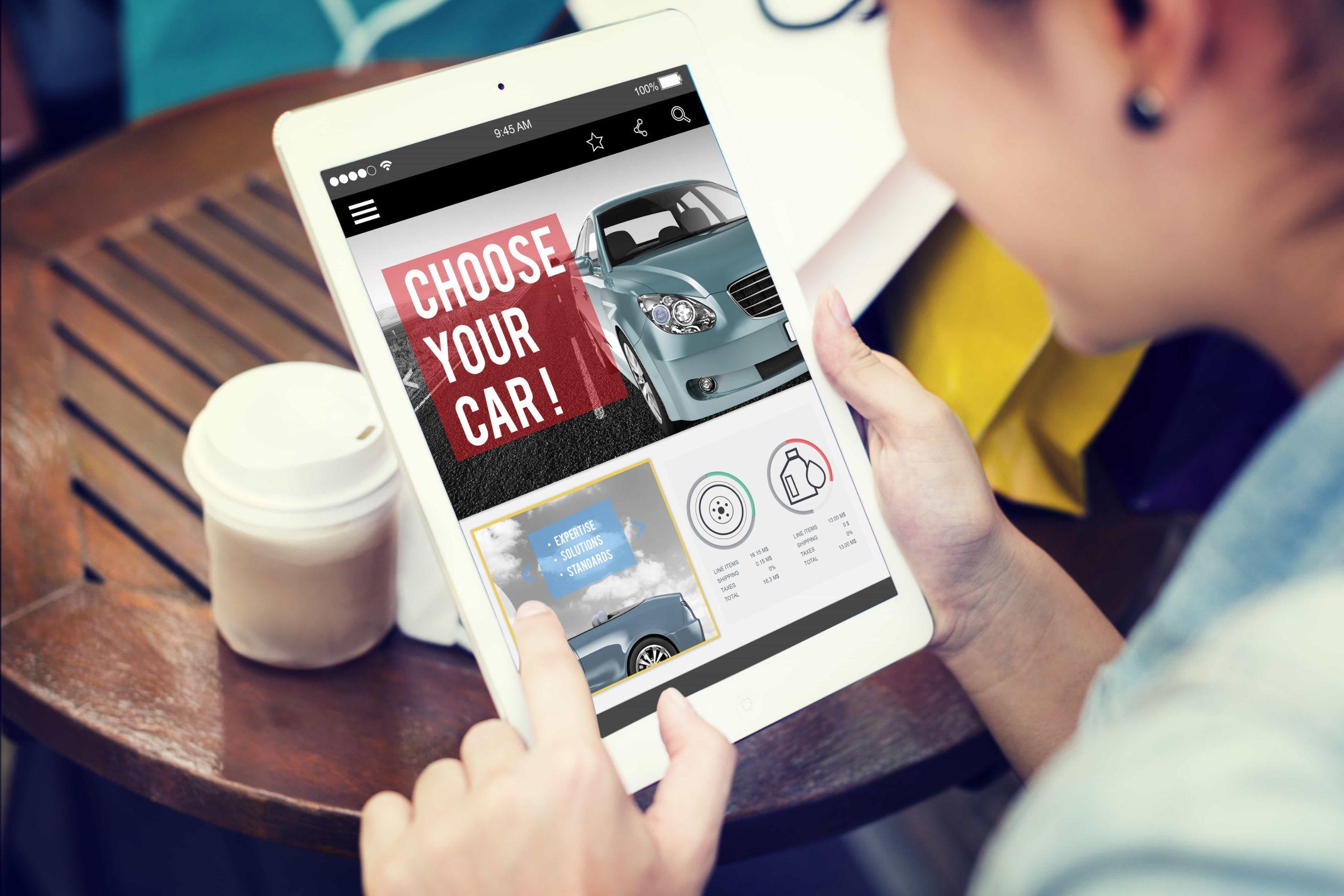 car shopping online