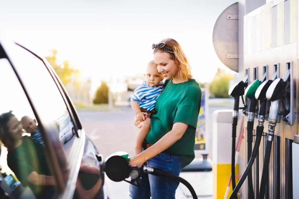 buying car gas